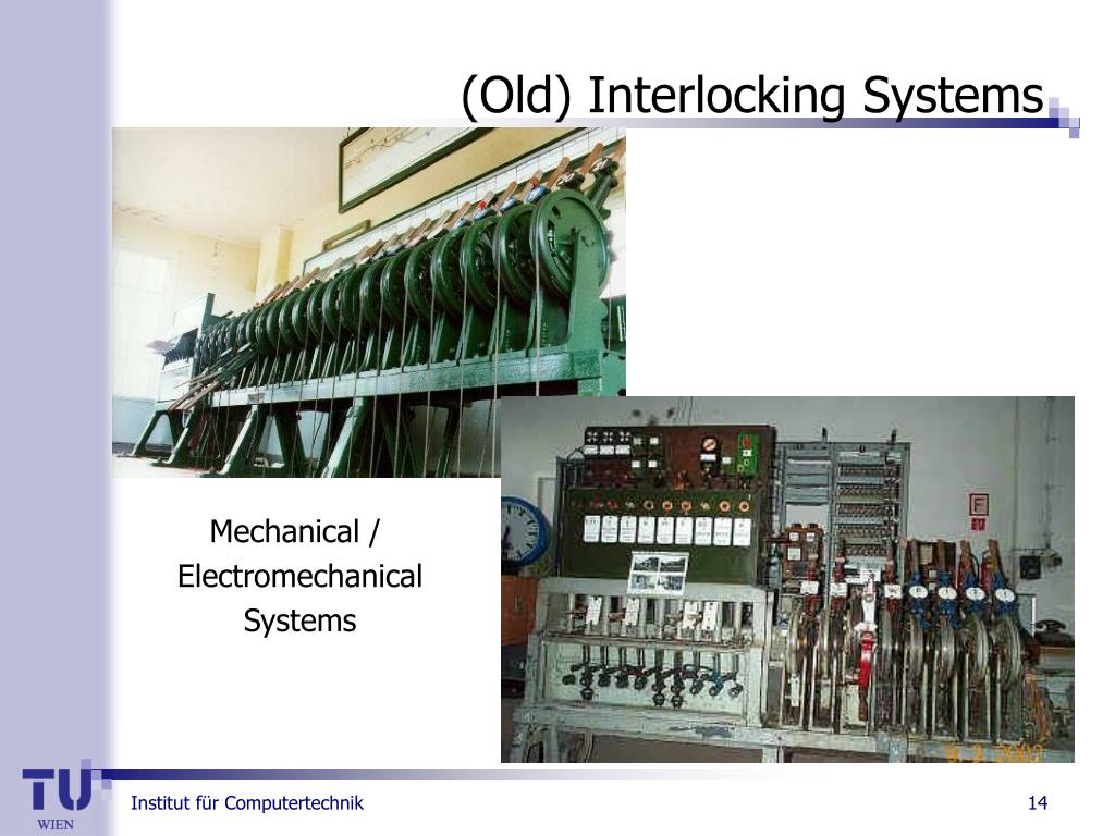 (Old) Interlocking Systems