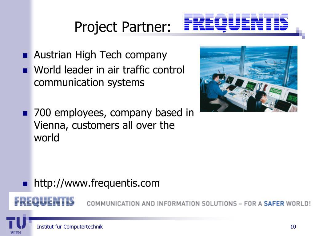Austrian High Tech company