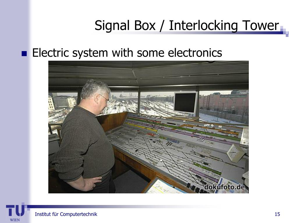 Signal Box / Interlocking Tower