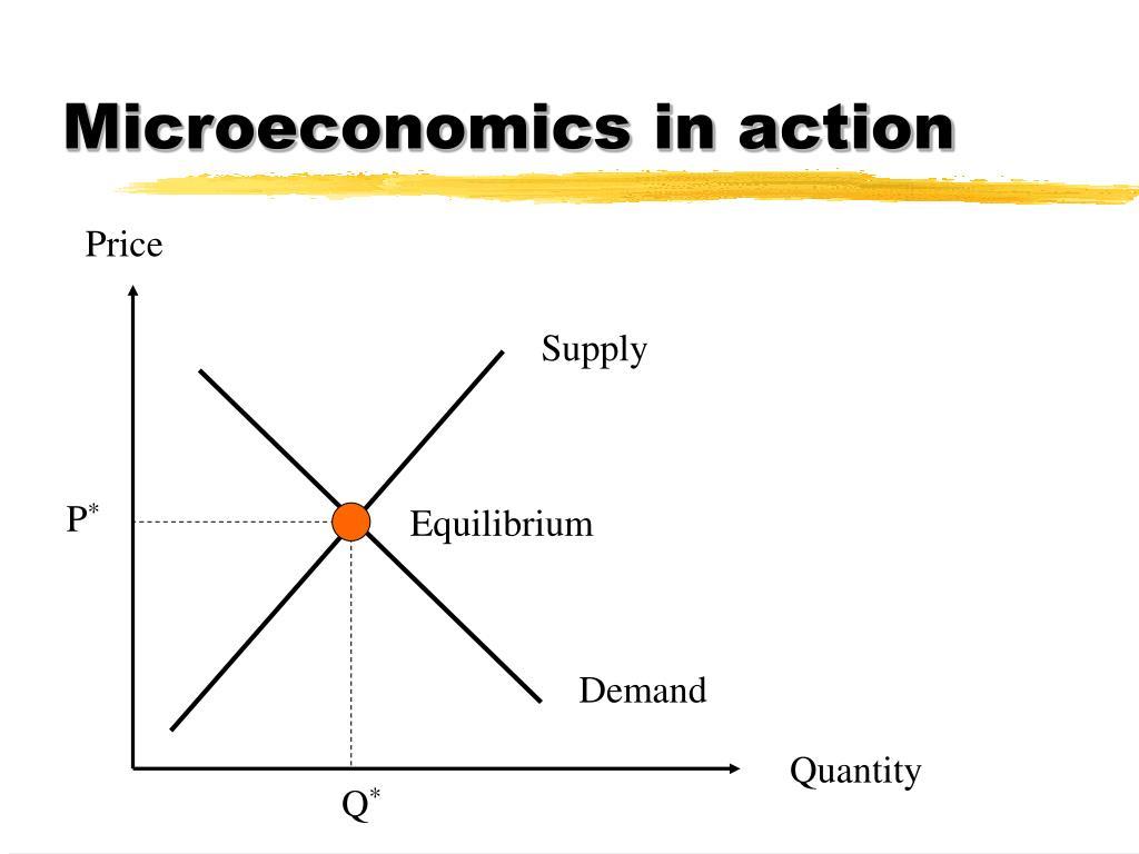 Microeconomics in action