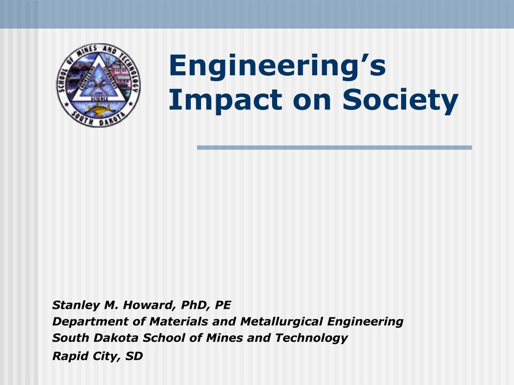 Engineering's Impact on Society