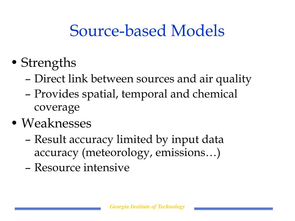 Source-based Models