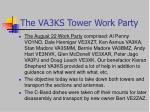 the va3ks tower work party2