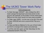 the va3ks tower work party22