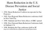 harm reduction in the u s disease prevention and social justice20