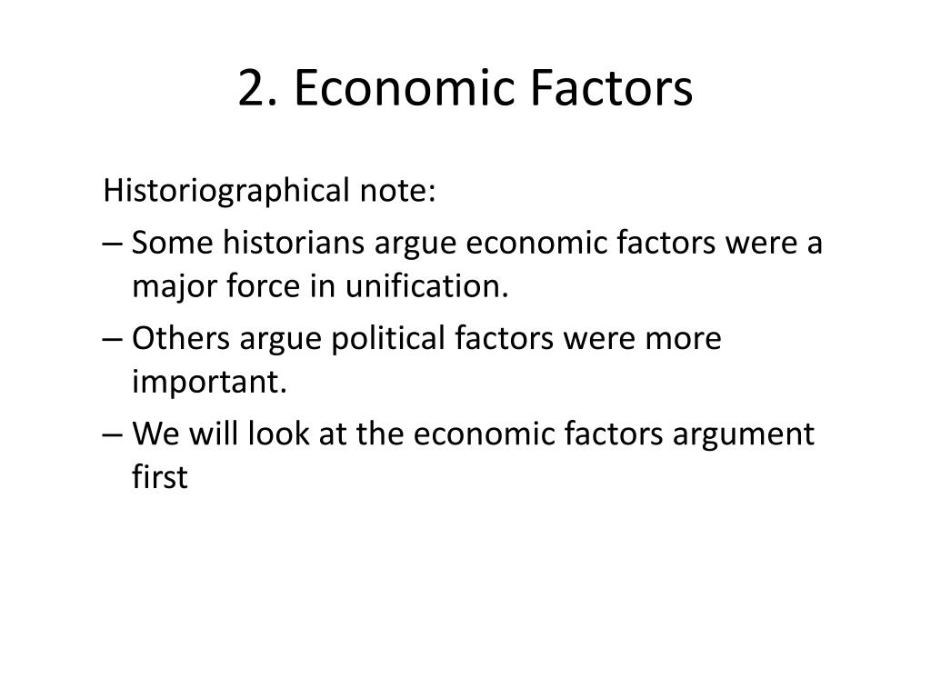 economic factors Economic factors affecting business include all important trends in the economy  that can help or hinder the company in achieving its objectives.