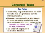 corporate taxes10