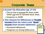 corporate taxes14