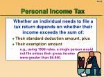 personal income tax23