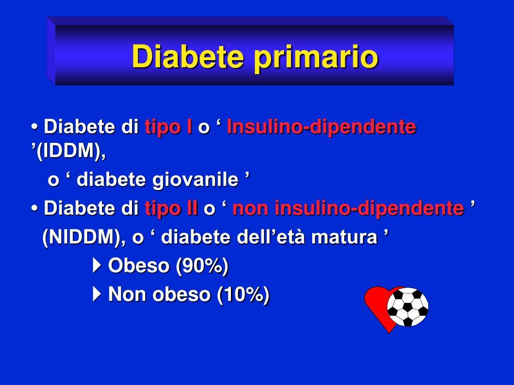 Diabete primario