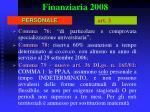 finanziaria 200825