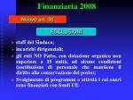 finanziaria 200827