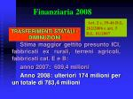 finanziaria 20083
