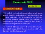 finanziaria 200836