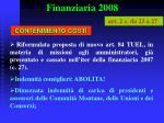finanziaria 200838