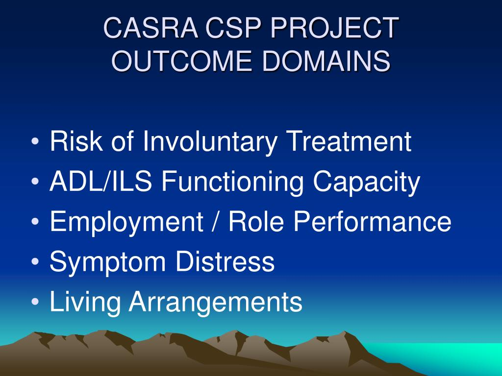 CASRA CSP PROJECT