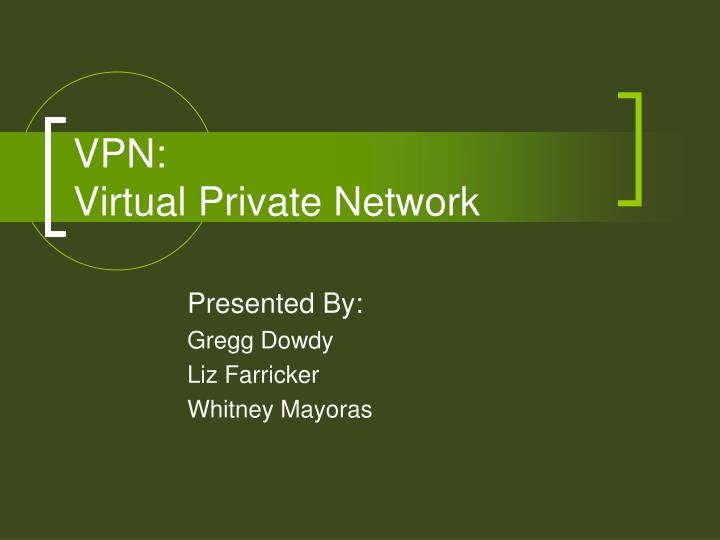 Vpn virtual private network l.jpg