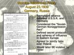 molotov ribbentrop treaty august 23 1939 germany russia