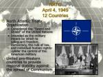 nato april 4 1949 12 countries