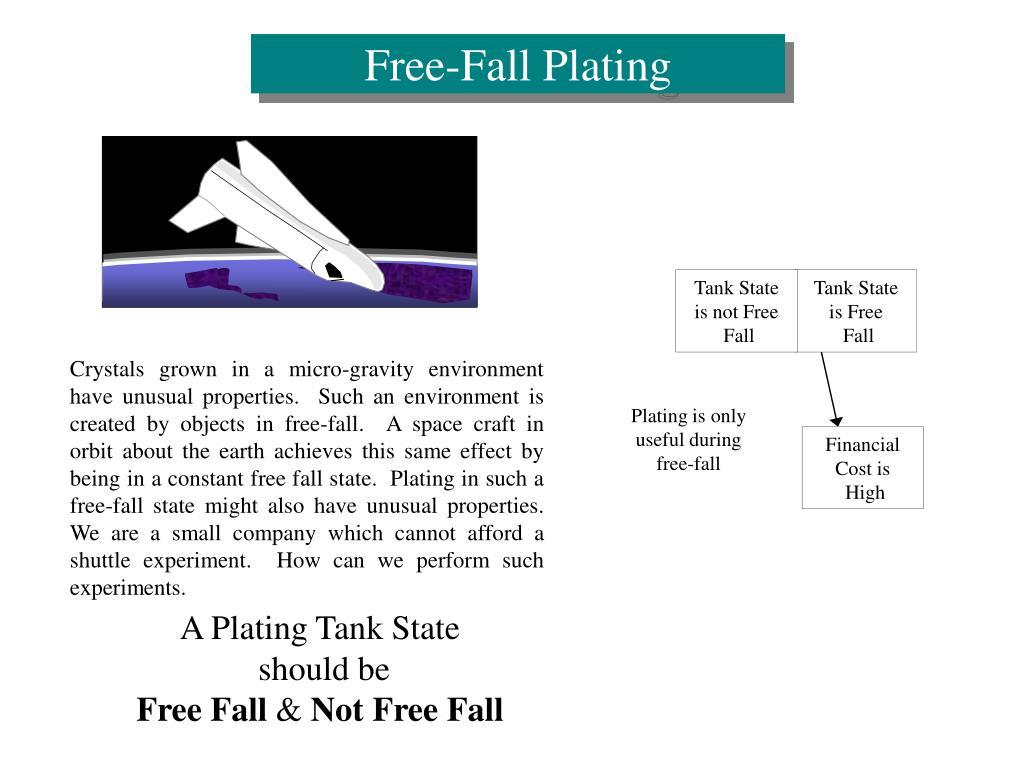 Free-Fall Plating