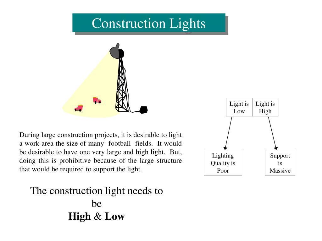 Construction Lights