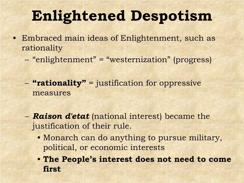 Enlightened Despotism