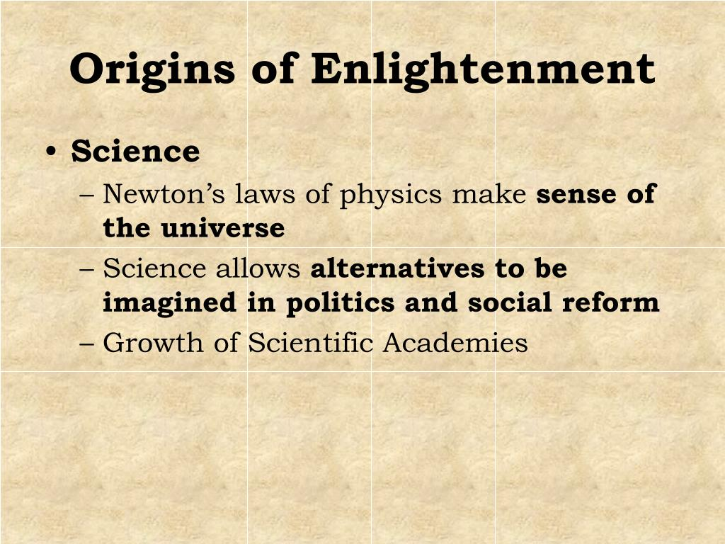 an overview of the most important points from the age of enlightenment The age of enlightenment was an 18th century cultural movement in europe the enlightenment's most important idea was that all people can reason and think for.