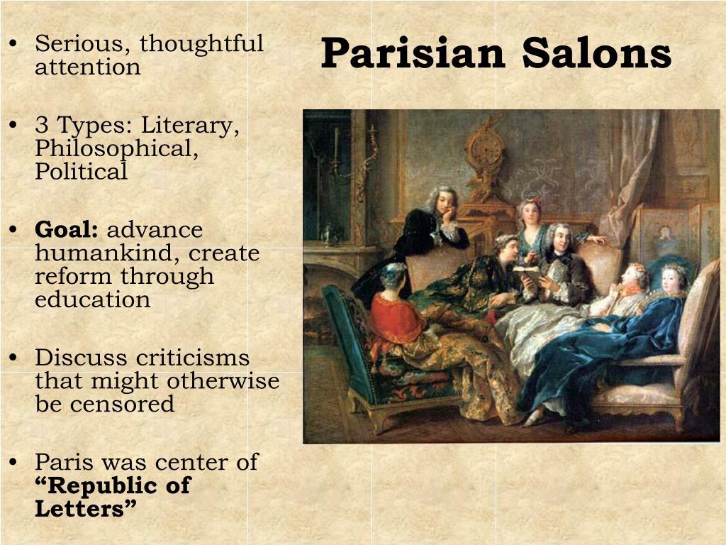 Parisian Salons