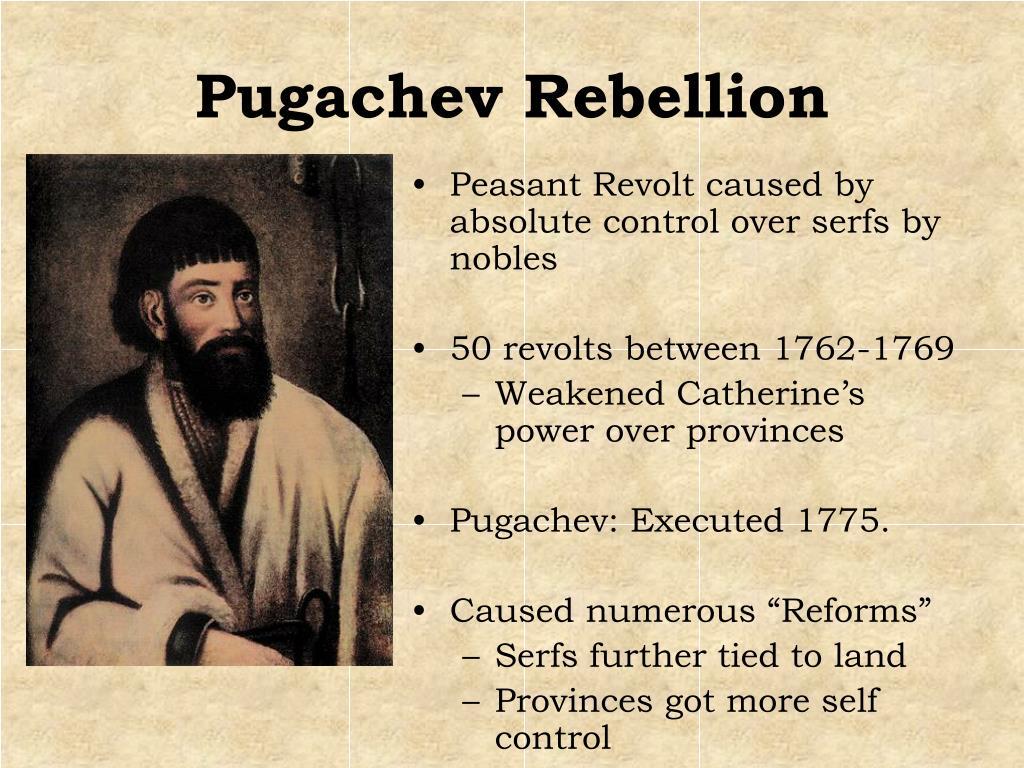 Pugachev Rebellion