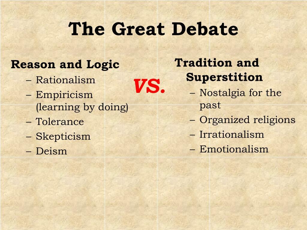 Reason and Logic