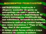 movimentos primitivistas