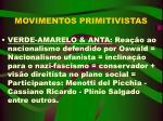 movimentos primitivistas17