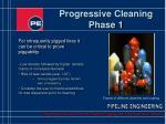 progressive cleaning phase 1