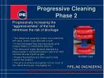 progressive cleaning phase 2