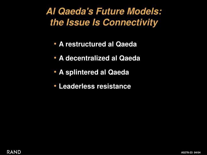 Al Qaeda's Future Models: