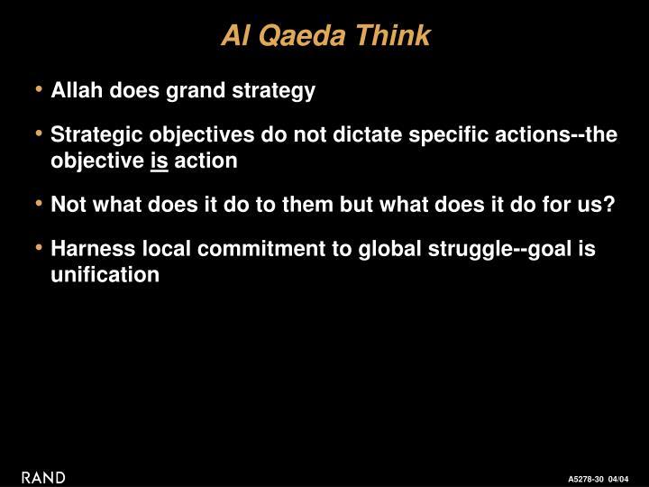 Al Qaeda Think