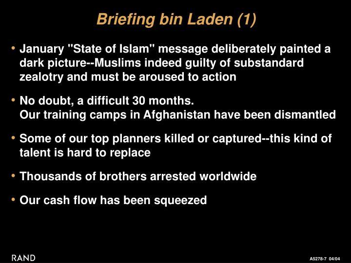 Briefing bin Laden (1)
