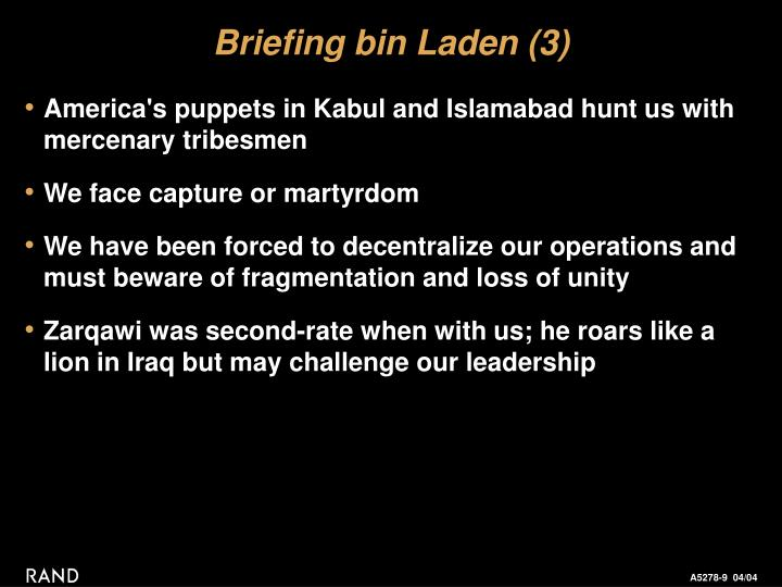 Briefing bin Laden (3)