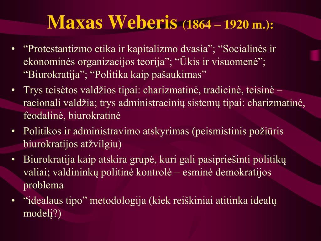 Maxas Weberis
