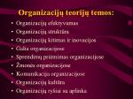 Organizacij teorij temos l.jpg