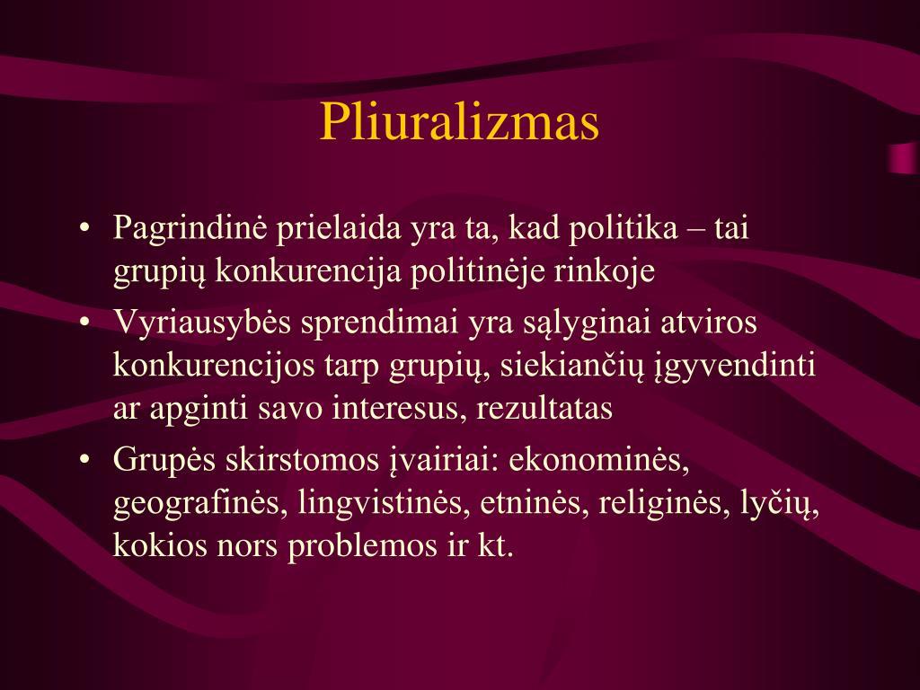 Pliuralizmas