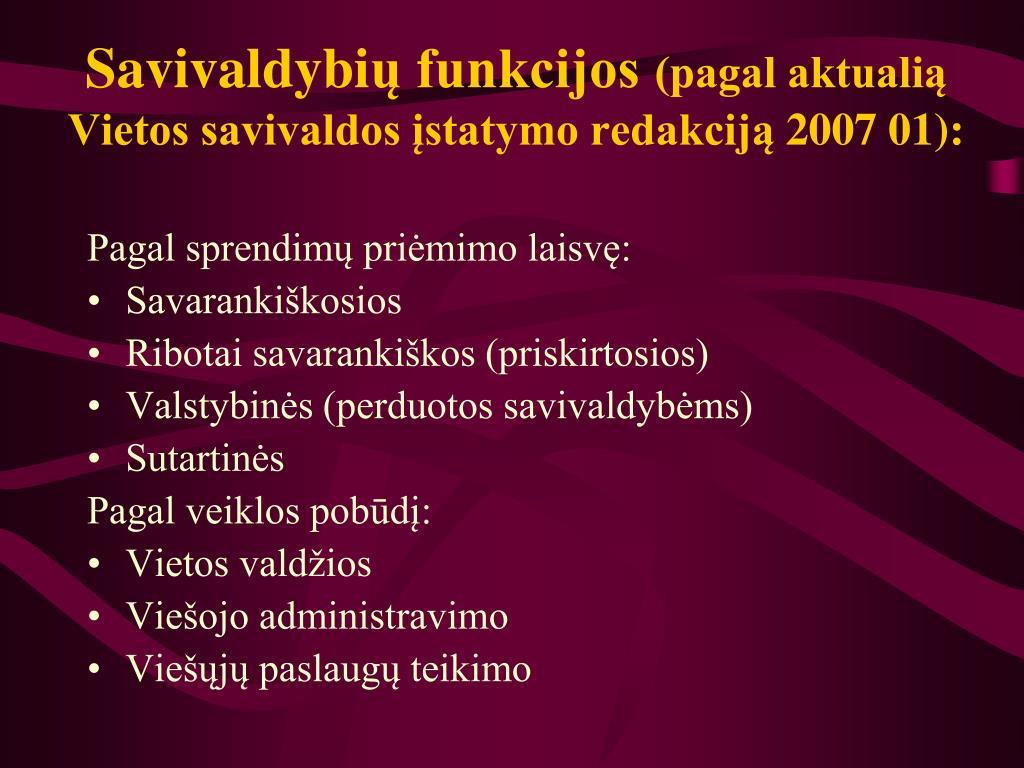 Savivaldybi
