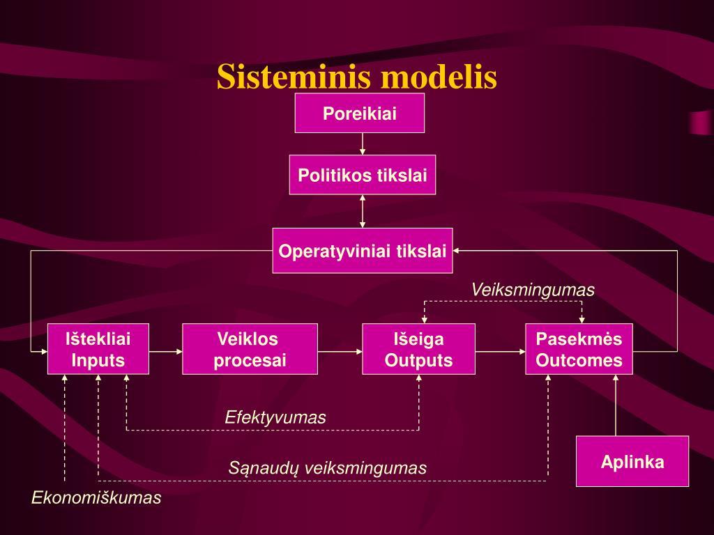 Sisteminis modelis