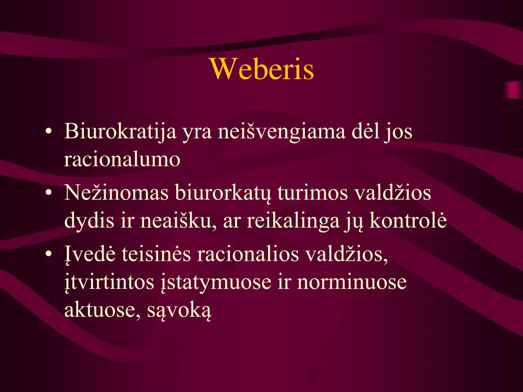Weberis