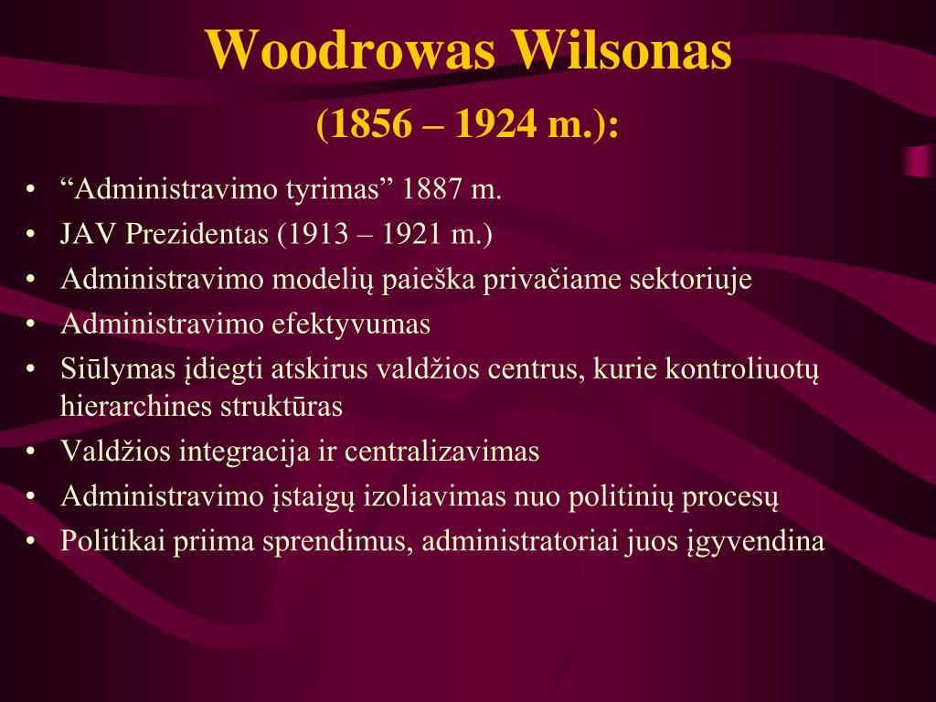 Woodrowas Wilsonas