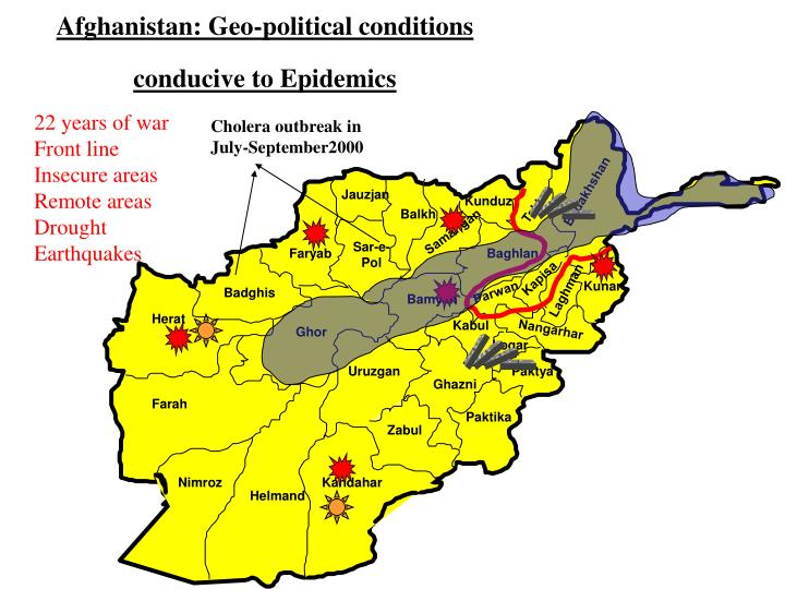 Afghanistan: Geo-political conditions