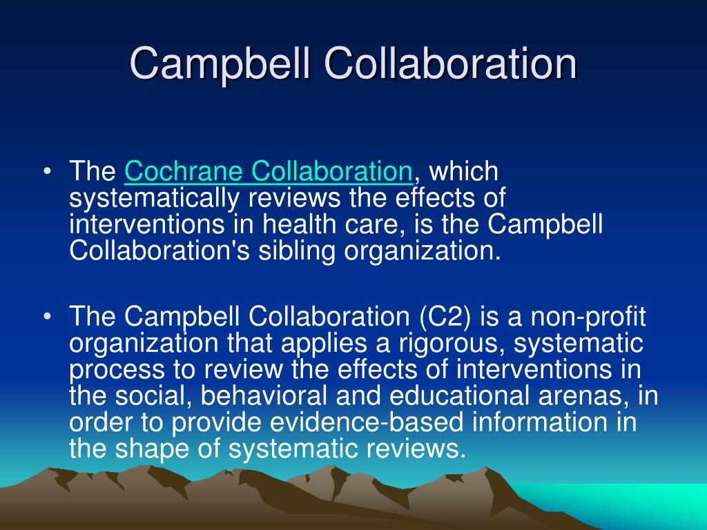 Campbell Collaboration