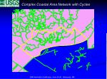 complex coastal area network with cycles