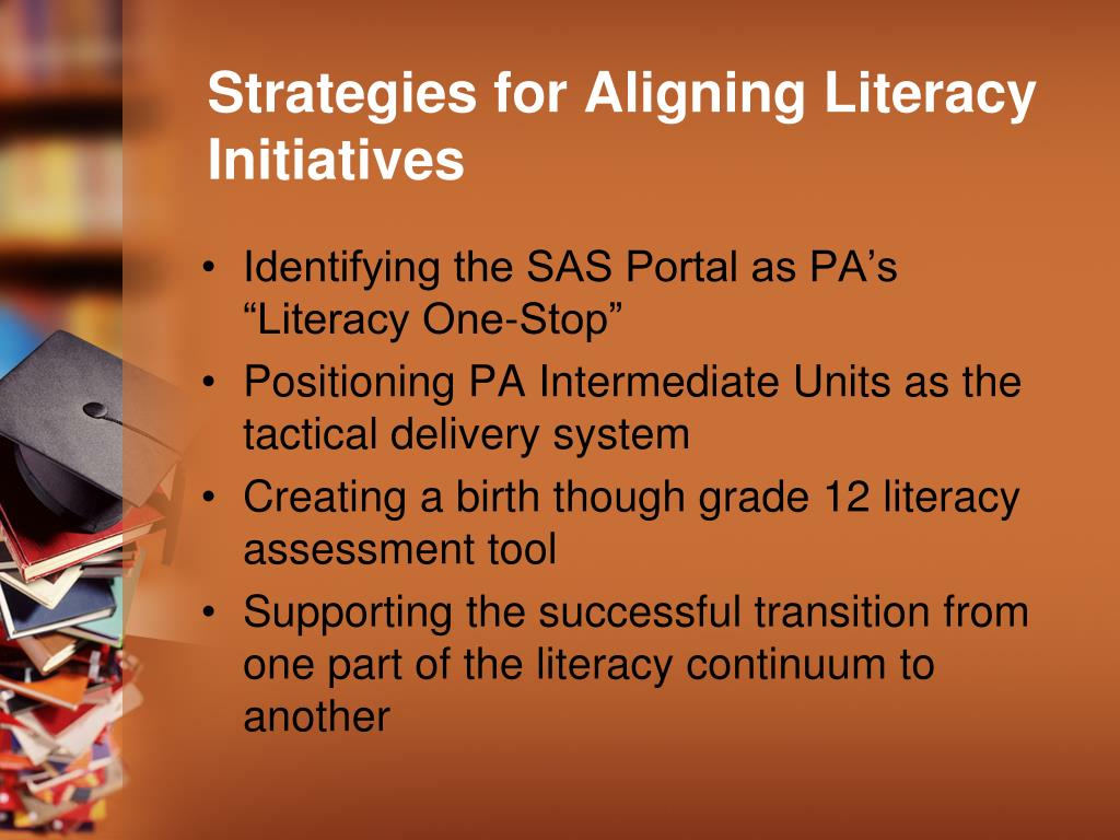 Strategies for Aligning Literacy Initiatives