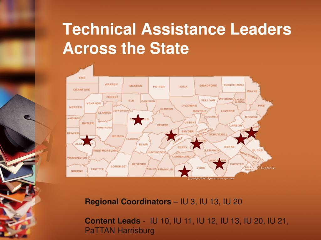 Technical Assistance Leaders Across the State